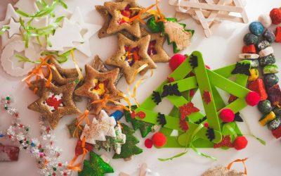 10 adornos DIY para tu árbol de Navidad