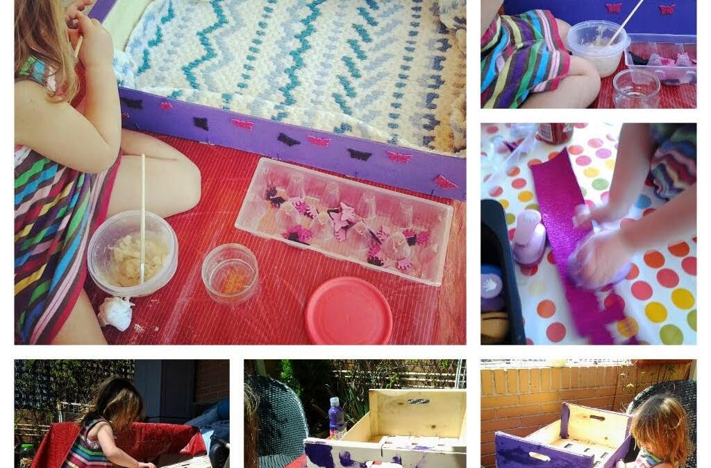 15 ideas para reciclar cajas de fruta con tus peques - Ideas con cajas de frutas ...