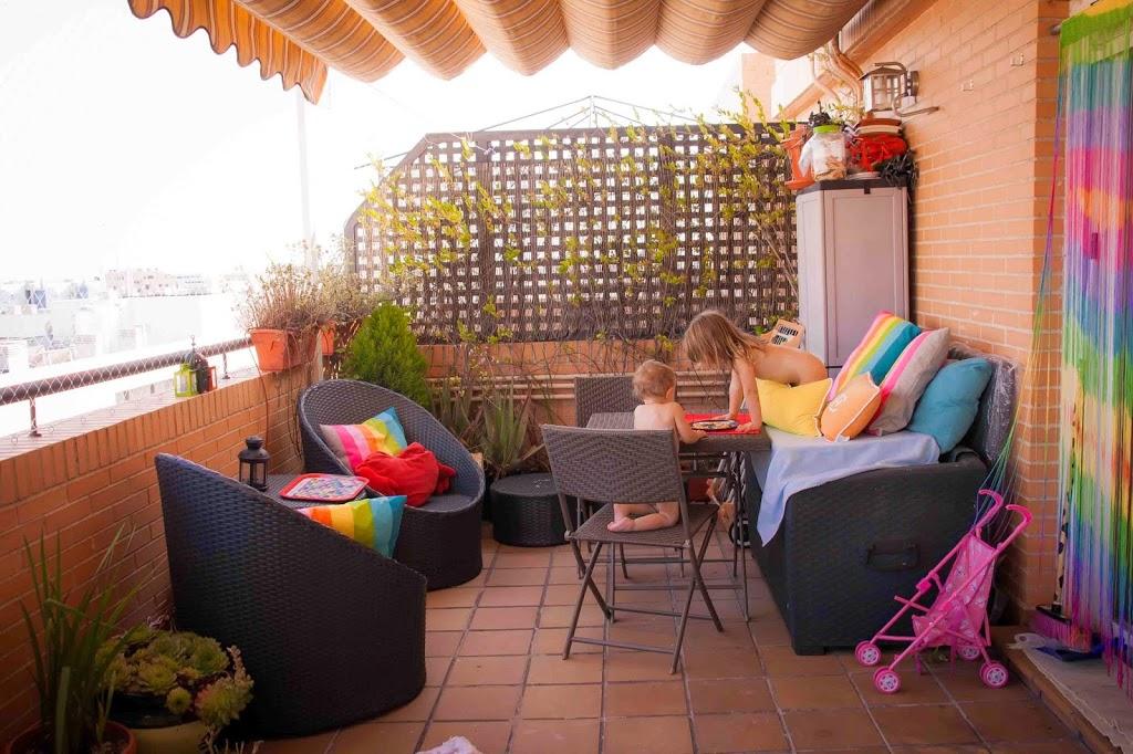 Nuestro ambiente preparado de exterior tigriteando - Chill out en casa ...