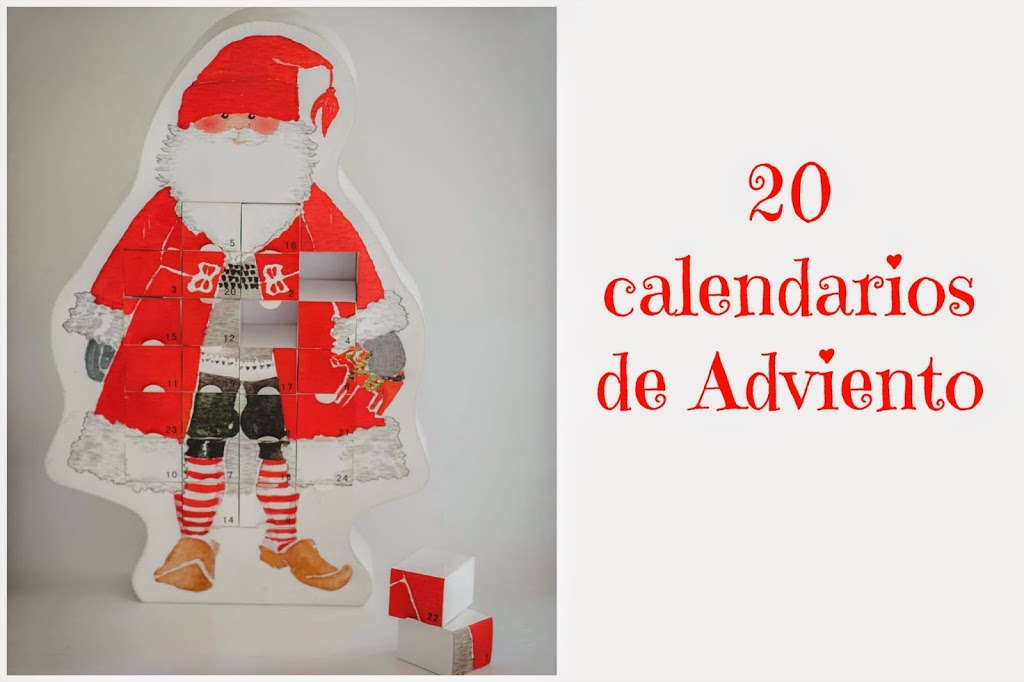Calendario Montessori.20 Calendarios De Adviento Tigriteando