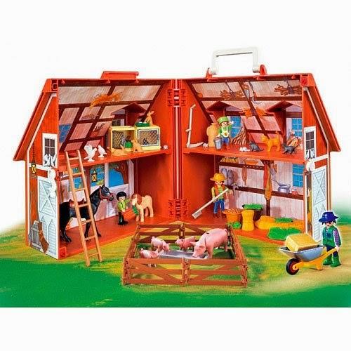 M s de 60 ideas para regalar a los peques esta navidad for Casa maletin playmobil