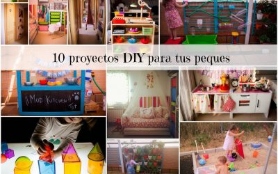 10 Proyectos DIY para tus peques