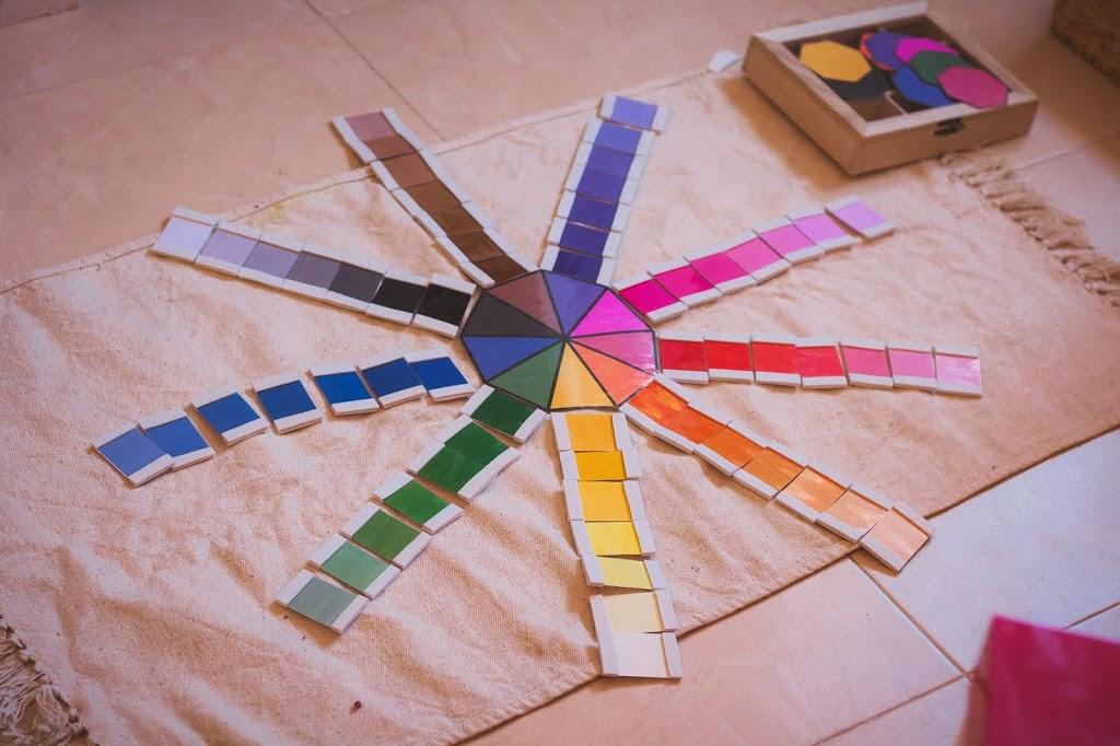 Caja de color número 3 Montessori DIY - Tigriteando