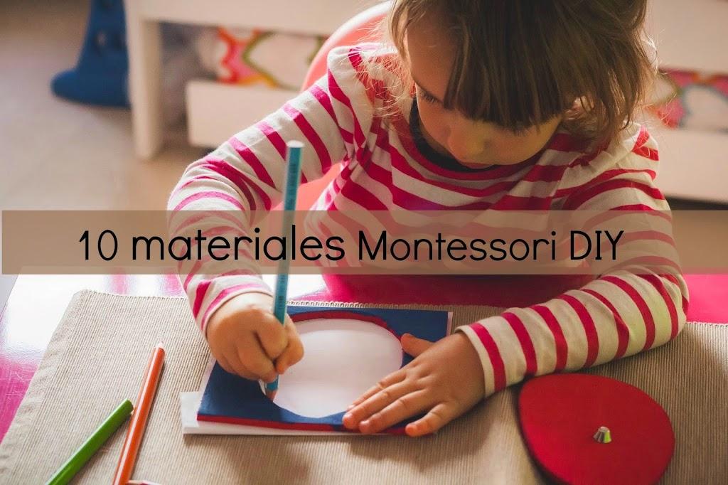 10 Materiales Montessori Que Merece La Pena Fabricar Tigriteando