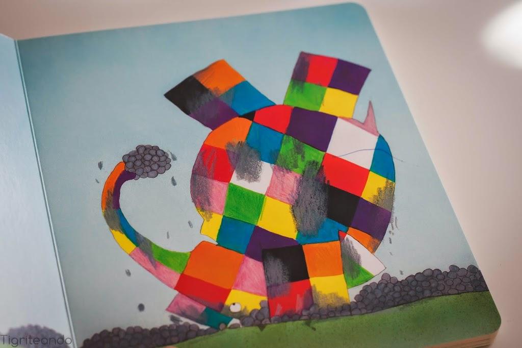 Elmer, el elefante multicolor - Tigriteando