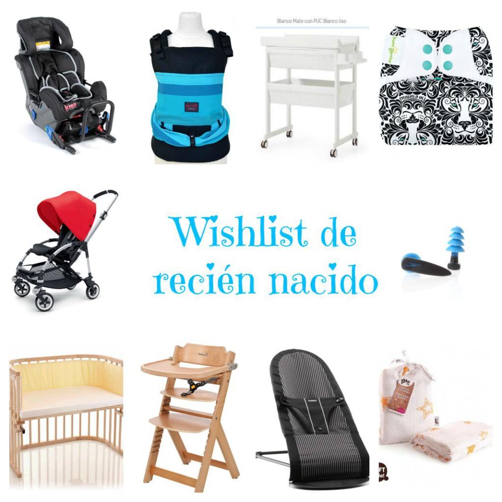 wishlist recién nacido