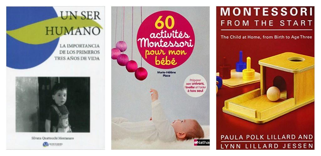 Libros Montessori bebes