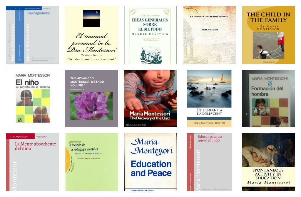 Maria Montessori libros