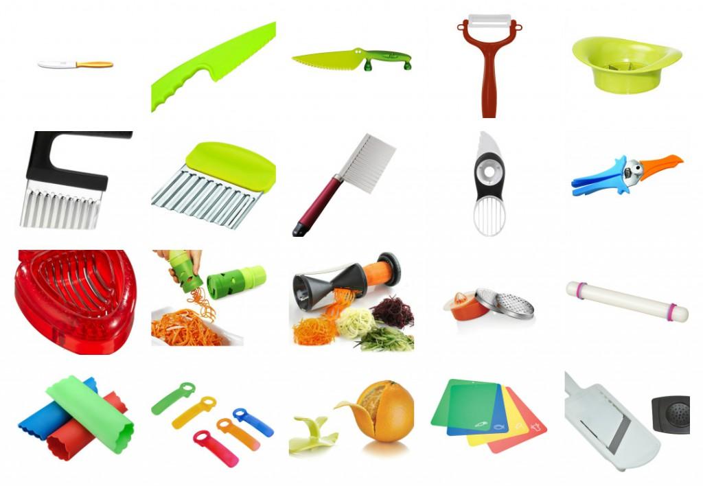 30 utensilios de cocina para ninos tigriteando for Material para chef
