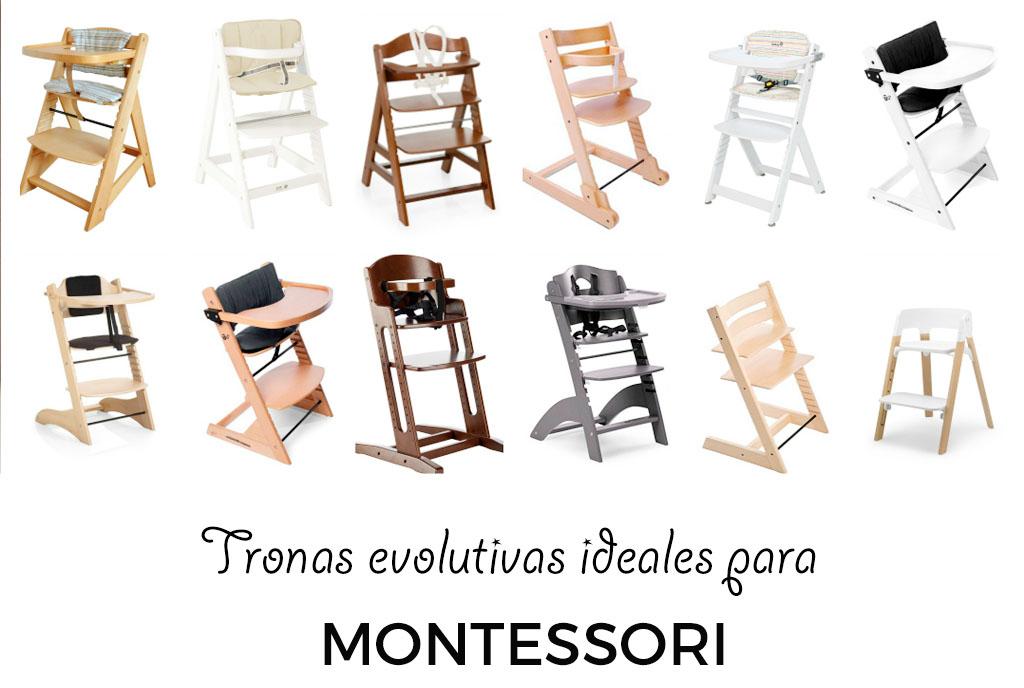 tronas evolutivas madera montessori