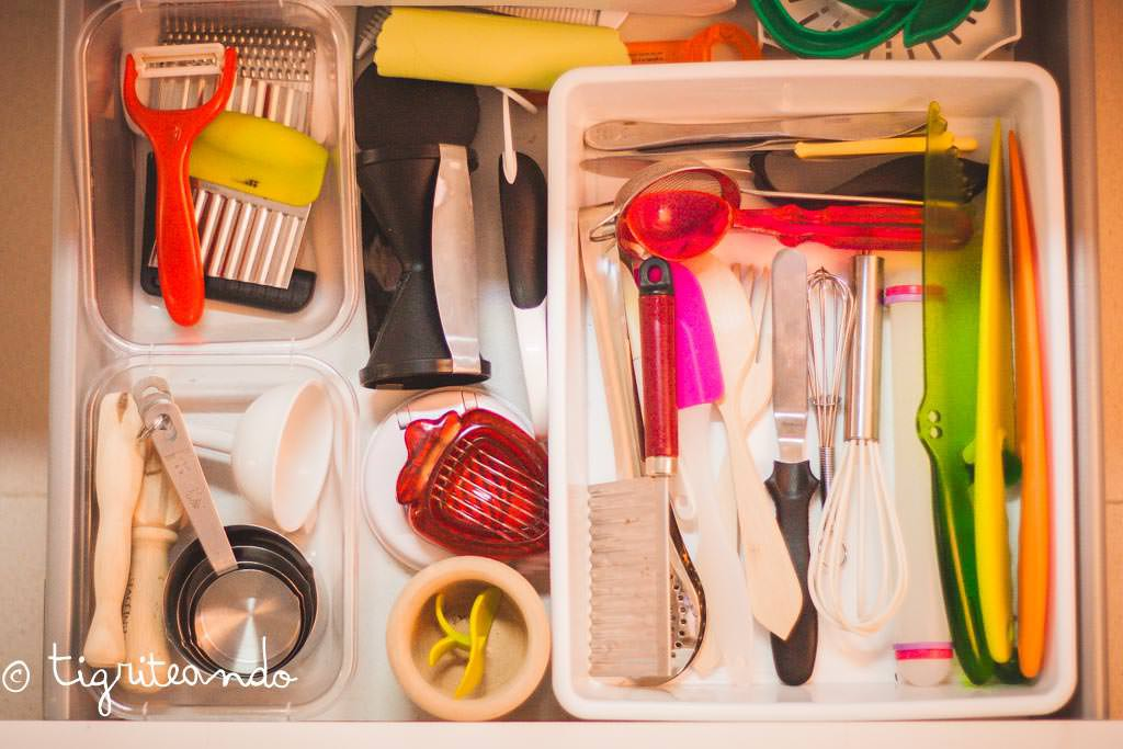 4 1 la cocina cursos montessorizate for Utensilios medidores cocina