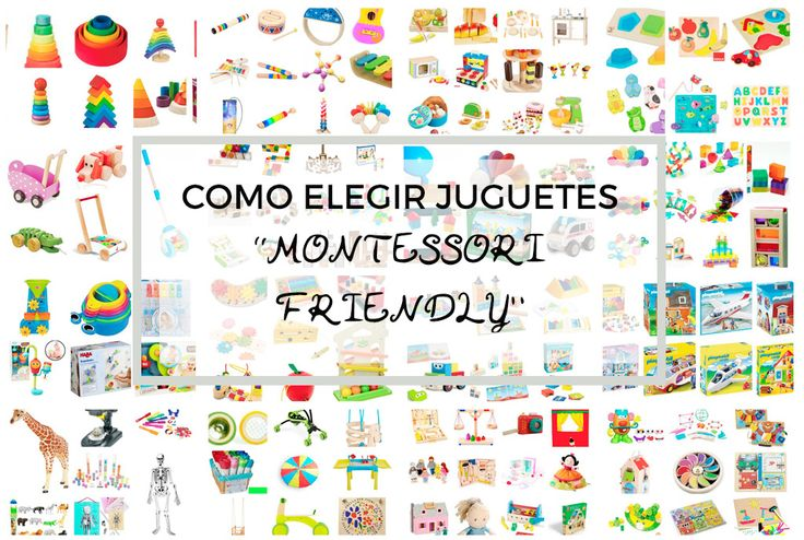 como elegir juguetes montessori friendly