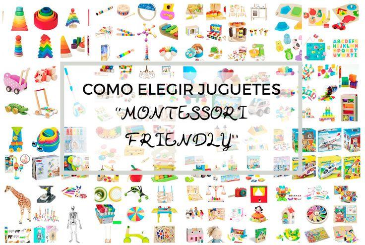 como elegir juguetes montessori friendly