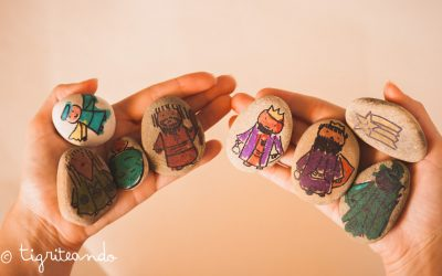 Tres manualidades ninos en Navidad