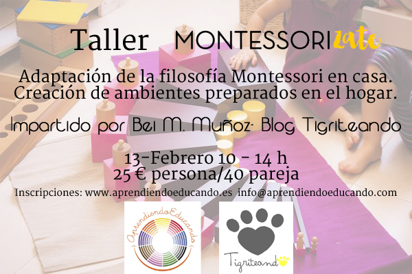 Taller Montessorizate getafe