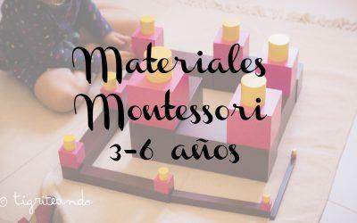 Actividades y materiales Montessori (3-6 anos)