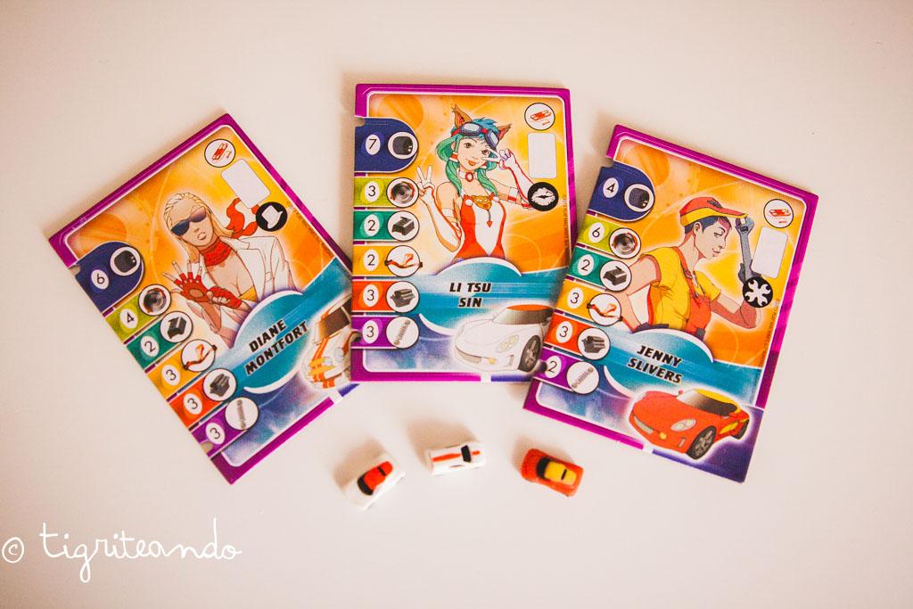 chicas protagonistas juegos de mesa jdt-16