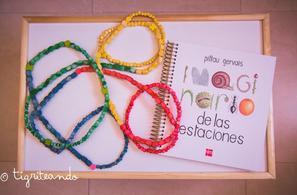 Collar o cadena anual Montessori