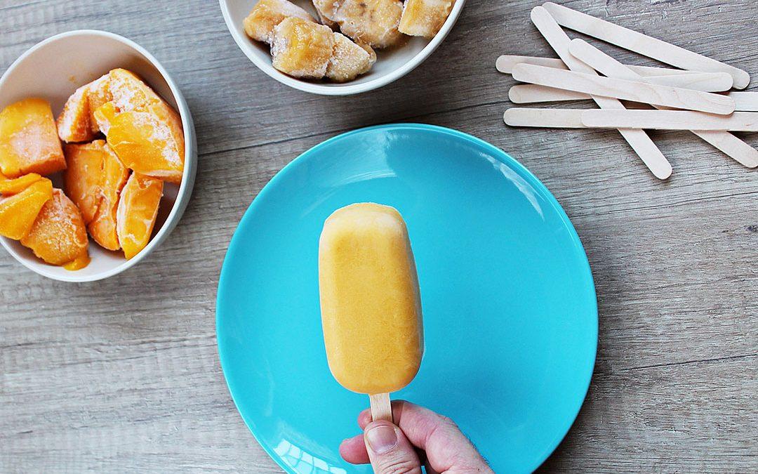 Ricos helados de fruta caseros {Veggie Kids}