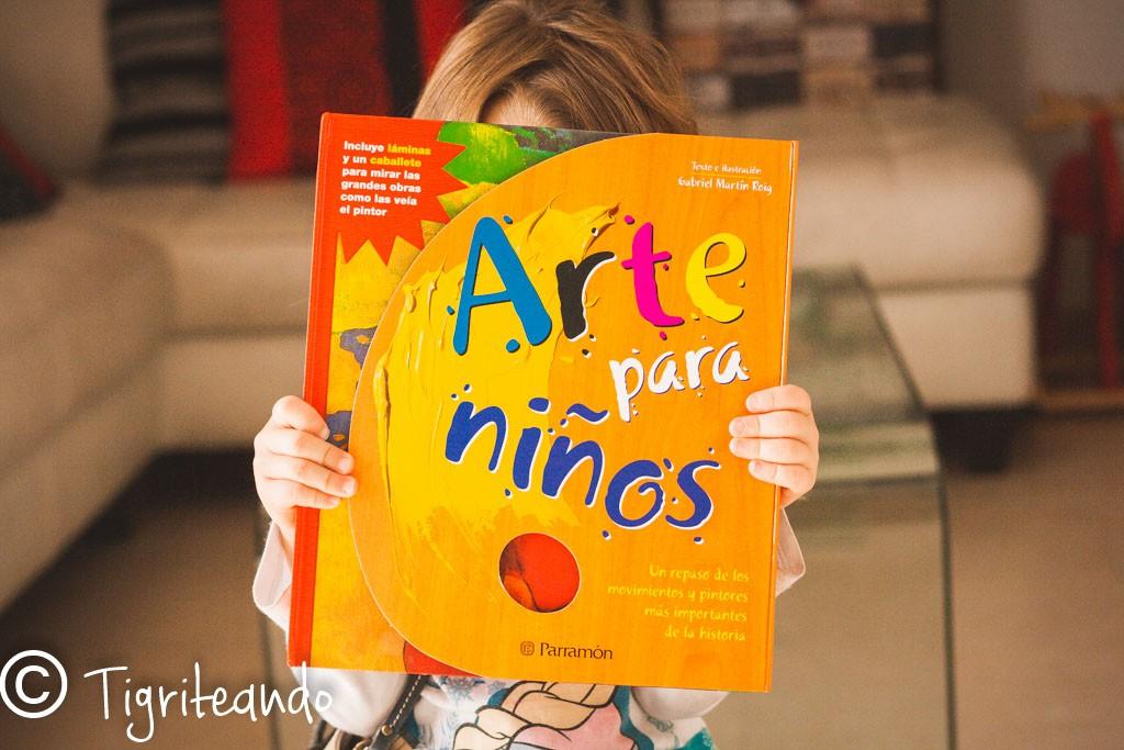 Libros de arte para ninos dos: Arte pictorico - Tigriteando