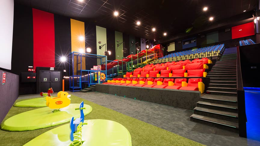 Sala Junior Yelmo Cinex – IslaAzul Madrid