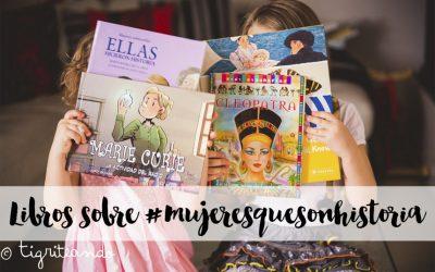 Libros para ninos de mujeres de la historia {Con sorteo}