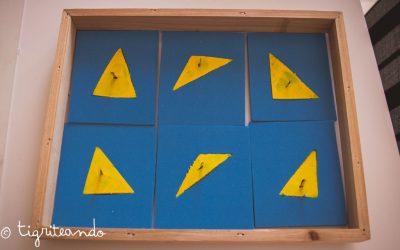 Gabinete geometrico Montessori DIY