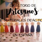 Directorio de artesanos de juguetes y materiales para niños