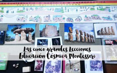 Las cinco grandes lecciones – Educación Cósmica Montessori