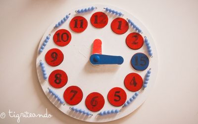 Reloj Montessori DIY – Con imprimible gratis