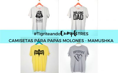 Camisetas para papás molones – Mamushka