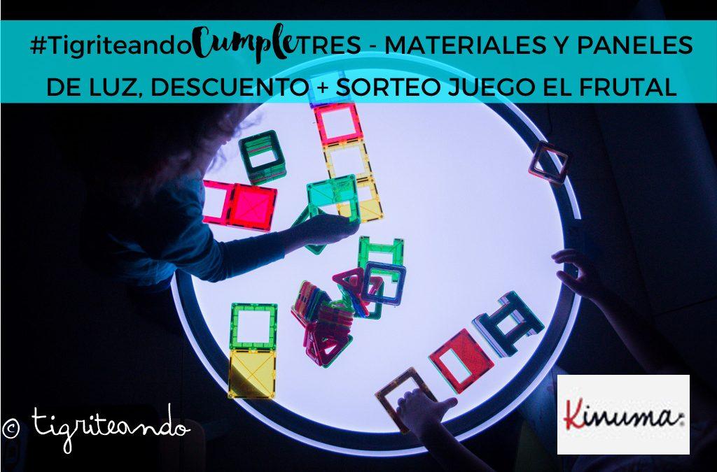 Materiales, elementos y paneles de luz de Kinuma