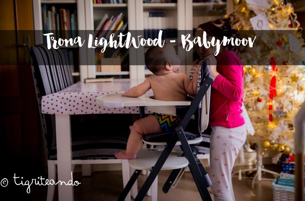 Trona BabyMoov LightWood – Sorteo bolso Glitter