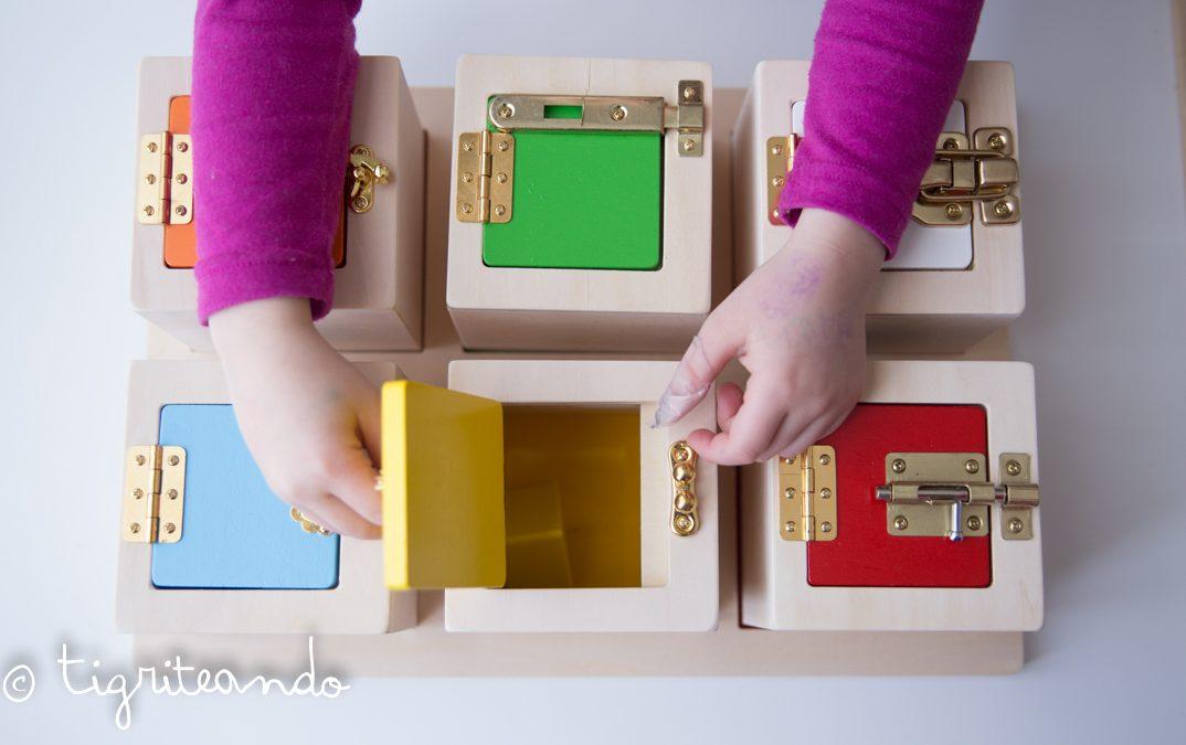 Caja de cerraduras de Guidecraft