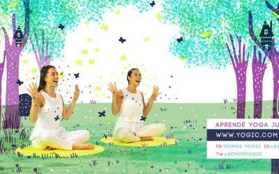 Un canal de youtube de Yoga para niños: YOGIC