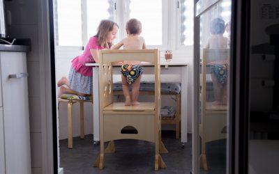 Torre de aprendizaje – Kitchen Helper Guidecraft