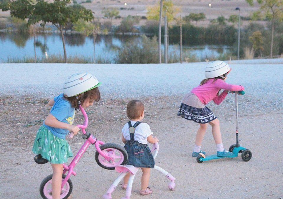 Bicis sin pedales para fomentar el equilibrio