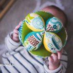 """Pelota de prensión """"Montessori"""" de Mamapai"""