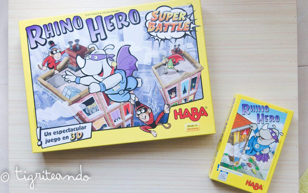 Rhino Hero y Rhino Hero Super Battle – Los cinco lobitos {JdT}