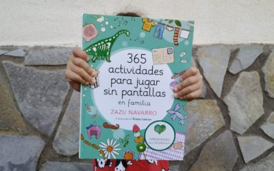 """Reseña """"365 actividades para jugar sin pantallas en familia"""""""