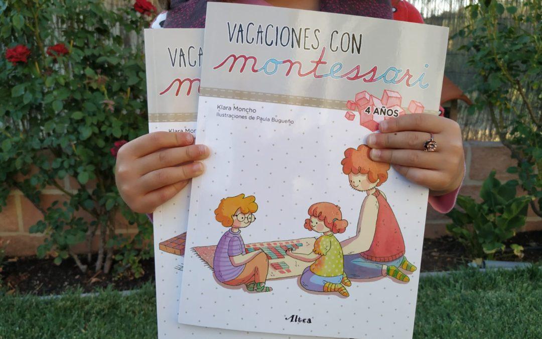 Libritos Vacaciones con Montessori