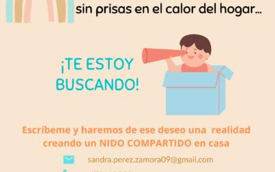 CRIANZA SIN PRISAS EN EL CALOR DEL HOGAR – Nidos Compartidos {En tu cole me cole}