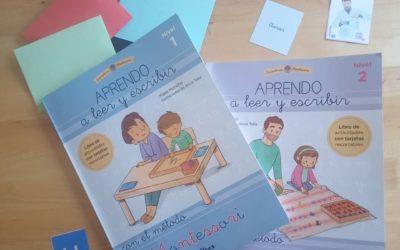 Aprendo a leer y escribir con el método Montessori de Klara Moncho